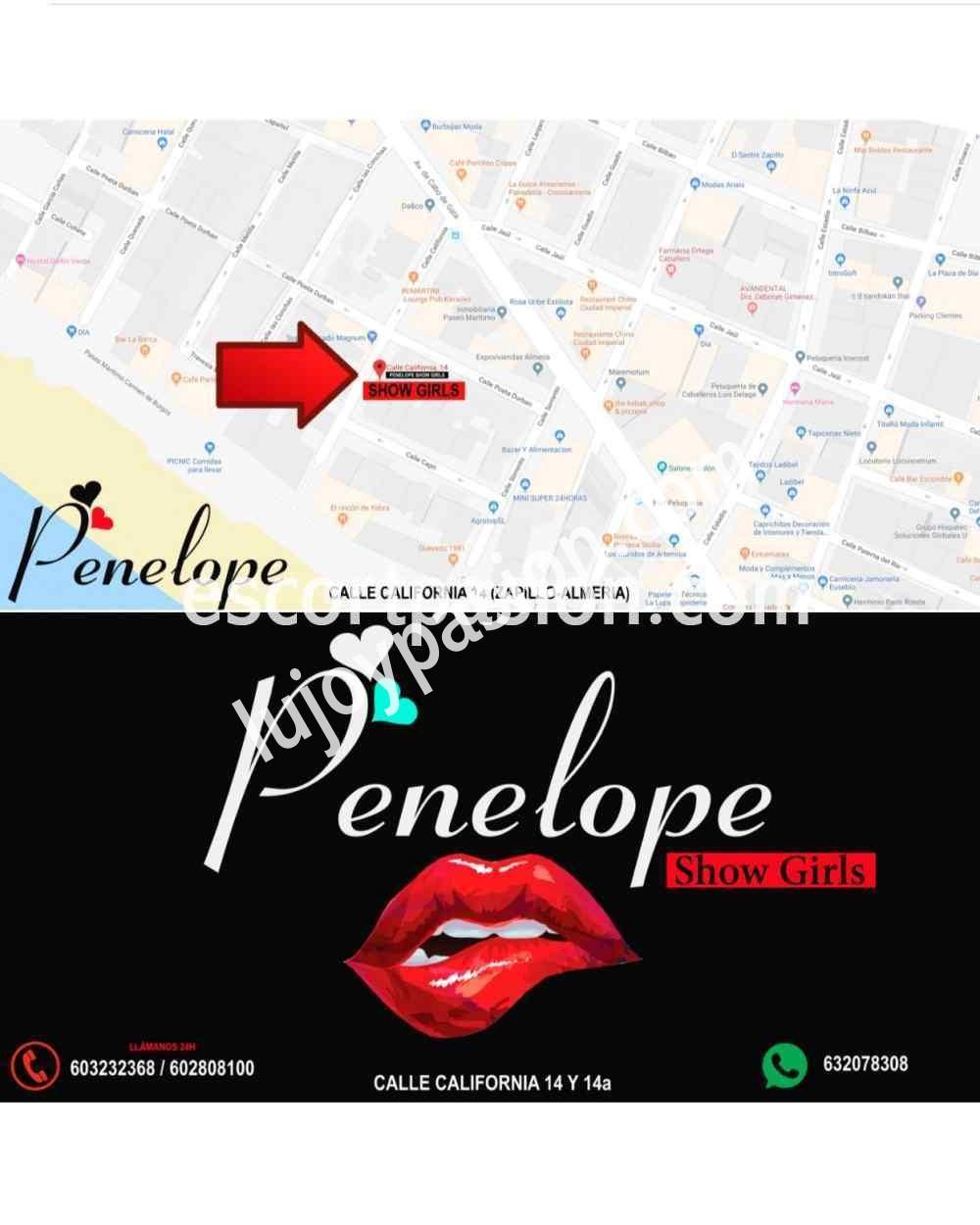 Plazas libres en Club Penelope Almería - Casa de citas en Madrid