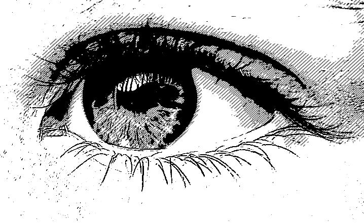ojo de chica puta