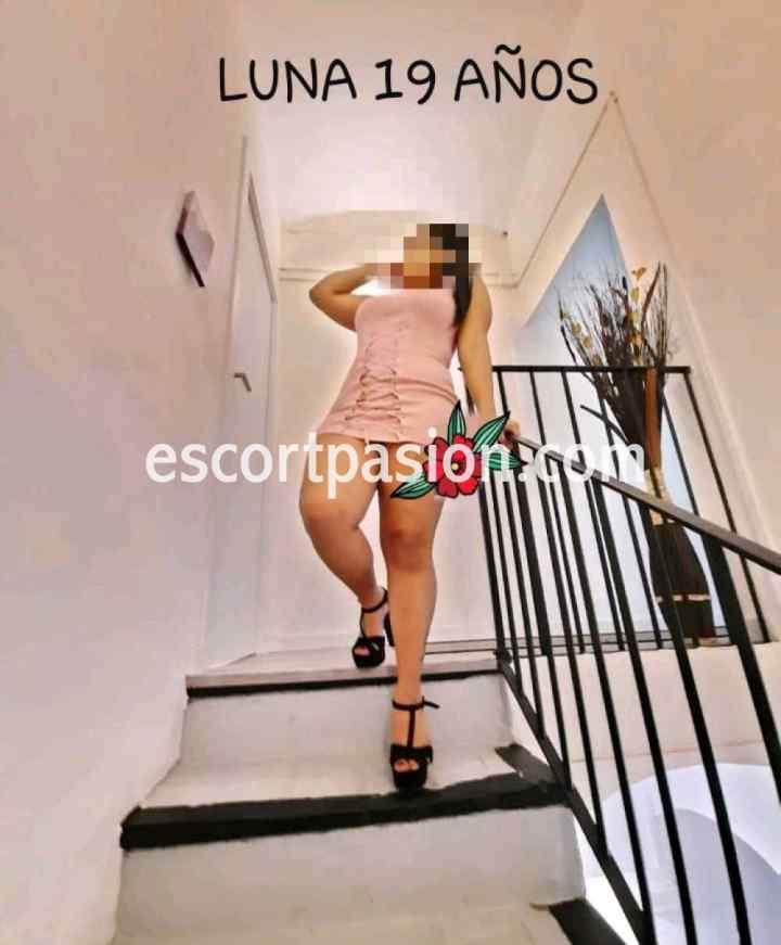escort de piernas sexys y tetas grandes puede acompañarte a una fiesta o evento
